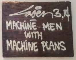 Machine Men with Machine Plans
