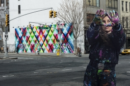 Maya Hayuk (USA), New York City 2014