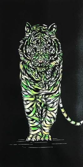 Tiger Threat Green