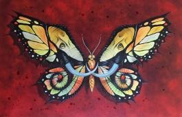 Elephutterfly handfinished