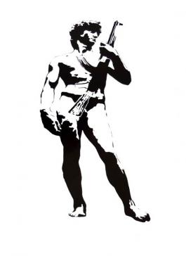 David with Kalashnikov