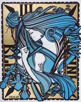 Ink nouveau blue