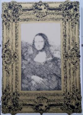 Mona Framed