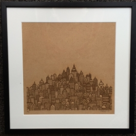 City Skyline – Wood Edition