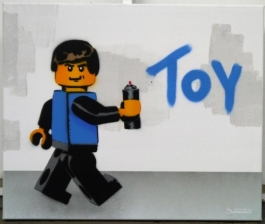 Lego Toy (Canvas)