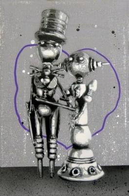 Robot Taking Over (Purple)