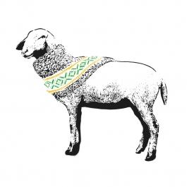 Pure Wool (Yellow & Green)