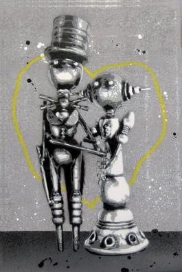 Robot Taking Over (Yellow)
