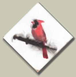 Cardinal and Seringe