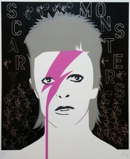 A Lad Insane Bowie Black