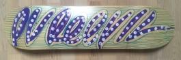 Purple Tag Skateboard
