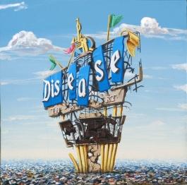 Disneyland Sign Landfill Series: Disease