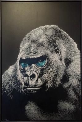 Portret 1 (Gorilla)