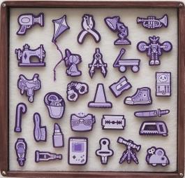 Tiny Objects (Violet)