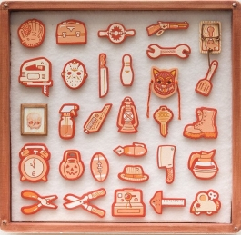 Tiny Objects (Orange)