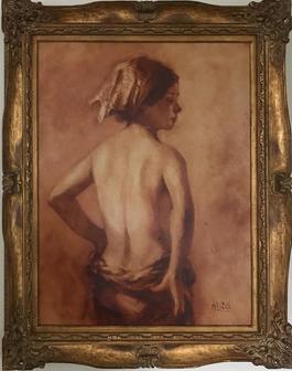 Back Nude Profile
