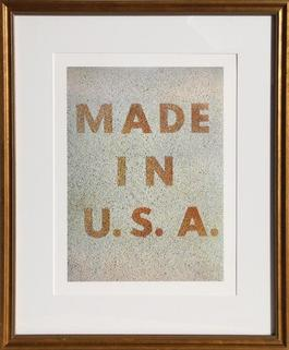 America: Her Best Product (Made in USA) from the Kent Bicentennial Portfolio