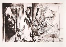 Chevalier en Armure, Page et Femme Nue