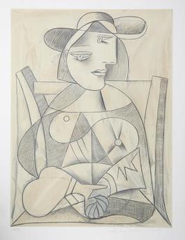 Femme aux Mains Jointes,1938