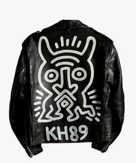 Schott Motorcycle Jacket Painting