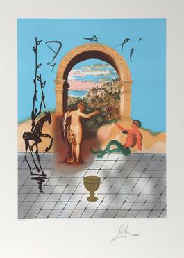 Gateway to the New World from the Dali Discovers America Portfolio