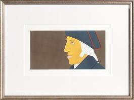 George Washington from Kent-Bicentennial Portfolio-Spirit of Independence