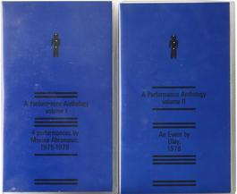 A Performance Anthology: Volume I & II