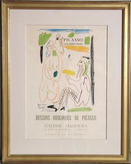 Les Dejeuners Dessins Originaux de Picasso