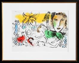 Homecoming from XXe Siecle. Chagall Monumental