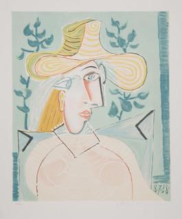 Femme a la Collerette, 1937