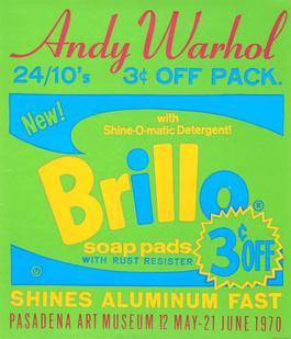 Brillo Soap Pads - Pasadena Art Museum Poster