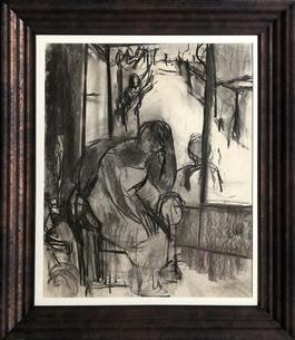 Untitled - Woman in Chair by Window