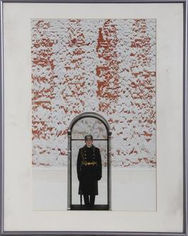Soldier Outside the Tomb of the Unknown Soldier