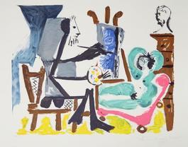 Le Peintre et son Modele, 1962