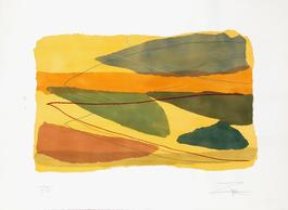 Untitled - Yellow Abstract