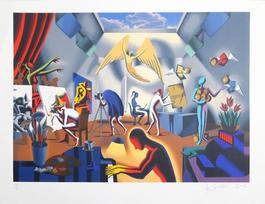 The Big Picture, 2002, by Mark Kostabi
