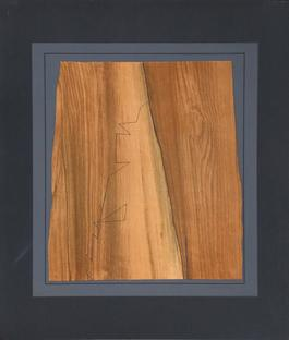 Untitled - Wood Abstract from Gordes