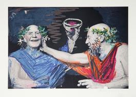 Photo Rehasse de Picasso et Manuel Pallares