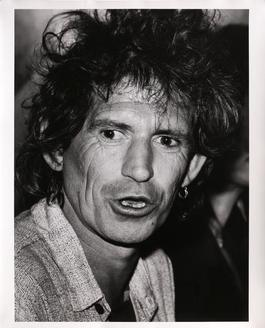 Keith Richards at the Chelsea Hotel