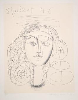 Portrait de Femme. 1946