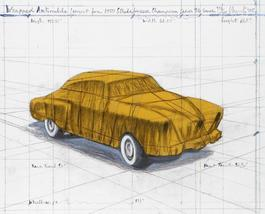 Wrapped Automobile (Project for 1950 Studebaker Champion Series)