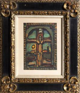 Crucifixion from Les Peintres mes amis