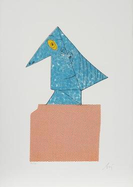 Portrait 4 from Baj Chez Picasso