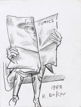 Comics on the Subway
