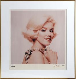 Marilyn Monroe Biting Lip from The Last Sitting