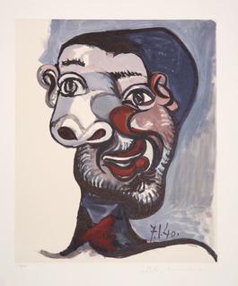 Tete de Homme, 1940