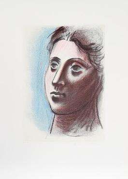 Portrait de Femme a Trois Quart Gauche, 1920