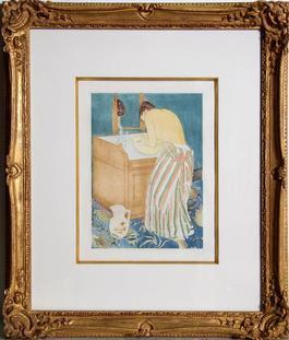Woman Bathing