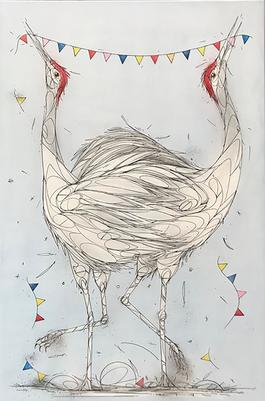 Party of cranes