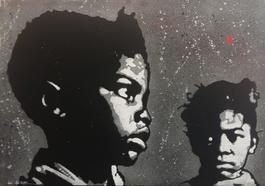 Two black kids